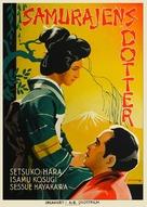 Atarashiki tsuchi - Swedish Movie Poster (xs thumbnail)