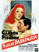 Mrs. Parkington - French Movie Poster (xs thumbnail)