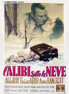 Nightfall - Italian Movie Poster (xs thumbnail)