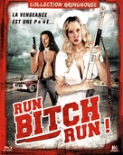 Run! Bitch Run! - French Blu-Ray cover (xs thumbnail)