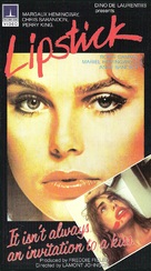 Lipstick - Dutch VHS movie cover (xs thumbnail)