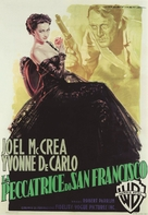The San Francisco Story - Italian Movie Poster (xs thumbnail)