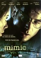 Mimic - German DVD cover (xs thumbnail)