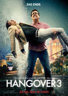 The Hangover Part III - German Movie Poster (xs thumbnail)