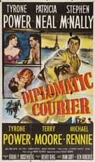 Diplomatic Courier - Movie Poster (xs thumbnail)