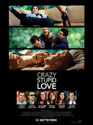 Crazy, Stupid, Love. - French Movie Poster (xs thumbnail)