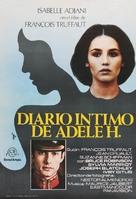 L'histoire d'Adèle H. - Spanish Movie Poster (xs thumbnail)
