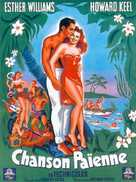 Pagan Love Song - French Movie Poster (xs thumbnail)