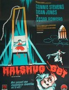 Two on a Guillotine - Danish Movie Poster (xs thumbnail)