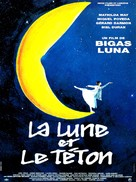 La teta y la luna - French Movie Poster (xs thumbnail)