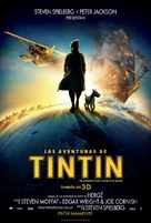 The Adventures of Tintin: The Secret of the Unicorn - Mexican Movie Poster (xs thumbnail)