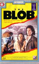 The Blob - Norwegian VHS movie cover (xs thumbnail)