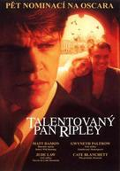 The Talented Mr. Ripley - Czech Movie Cover (xs thumbnail)