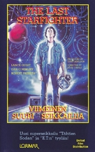 The Last Starfighter - Finnish VHS movie cover (xs thumbnail)