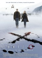 The X Files: I Want to Believe - German Movie Poster (xs thumbnail)