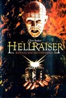 Hellraiser - Brazilian DVD cover (xs thumbnail)