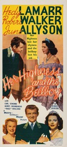 Her Highness and the Bellboy - Australian Movie Poster (xs thumbnail)