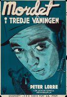 Stranger on the Third Floor - Swedish Movie Poster (xs thumbnail)
