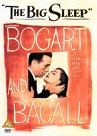 The Big Sleep - British DVD cover (xs thumbnail)