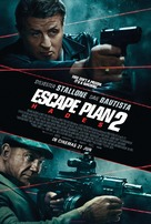Escape Plan 2: Hades - British Movie Poster (xs thumbnail)