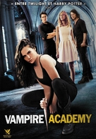 Vampire Academy - French DVD movie cover (xs thumbnail)