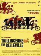 Les triplettes de Belleville - Danish Movie Poster (xs thumbnail)