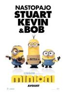 Minions - Slovenian Movie Poster (xs thumbnail)