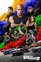 Fast & Furious 9 - Danish Movie Poster (xs thumbnail)