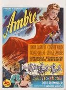 Forever Amber - Belgian Movie Poster (xs thumbnail)