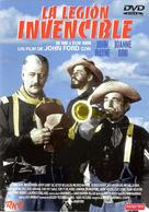 She Wore a Yellow Ribbon - Spanish DVD cover (xs thumbnail)