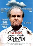 About Schmidt - Spanish Advance movie poster (xs thumbnail)