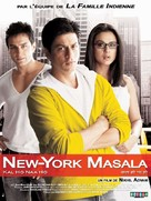 Kal Ho Naa Ho - French Movie Poster (xs thumbnail)