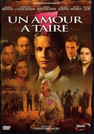 Un amour à taire - French DVD cover (xs thumbnail)