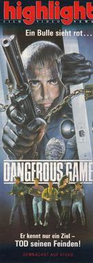 Dangerous Game - German poster (xs thumbnail)