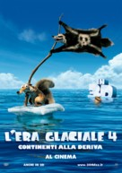 Ice Age: Continental Drift - Italian Movie Poster (xs thumbnail)