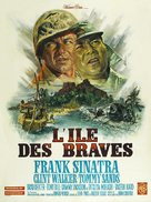 None But the Brave - French Movie Poster (xs thumbnail)