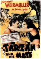 Tarzan and His Mate - Italian Movie Poster (xs thumbnail)