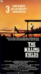 The Killing Fields - VHS movie cover (xs thumbnail)