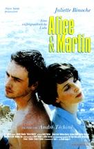 Alice et Martin - German DVD movie cover (xs thumbnail)