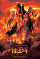 Hellboy - Brazilian Movie Poster (xs thumbnail)
