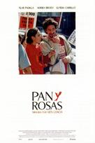 Bread and Roses - Spanish Movie Poster (xs thumbnail)