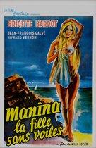 Manina, la fille sans voiles - Belgian Re-release poster (xs thumbnail)
