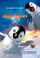 Happy Feet Two - Turkish Movie Poster (xs thumbnail)