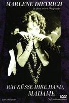 Ich küsse Ihre Hand, Madame - German DVD cover (xs thumbnail)