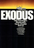 Exodus - German Movie Poster (xs thumbnail)