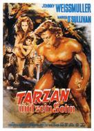 Tarzan Finds a Son! - German Movie Poster (xs thumbnail)