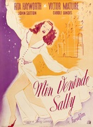 My Gal Sal - Danish Movie Poster (xs thumbnail)