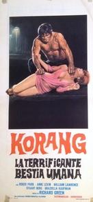 Horripilante bestia humana, La - Italian Movie Poster (xs thumbnail)