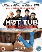 Hot Tub Time Machine - British Movie Cover (xs thumbnail)