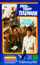 The Heroes of Telemark - German VHS movie cover (xs thumbnail)